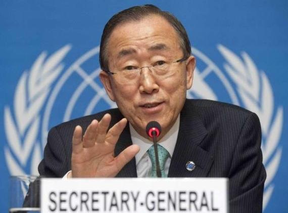 Ban Ki-moon, segretario generale delle Nazioni Unite
