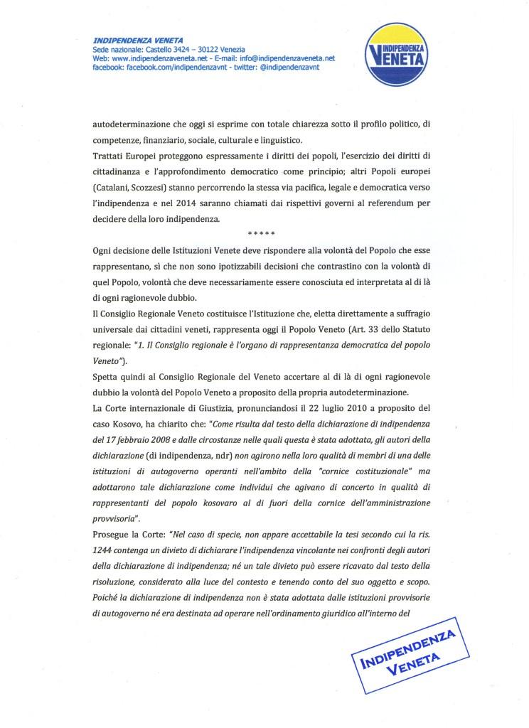indizione del referendum sull indipendenza del Veneto002