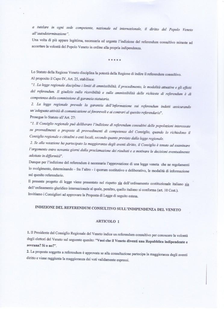 progetto di legge 342 005